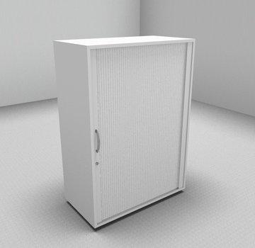 Serie MA  Querrollladenschrank 3OH weiß - 80cm breit
