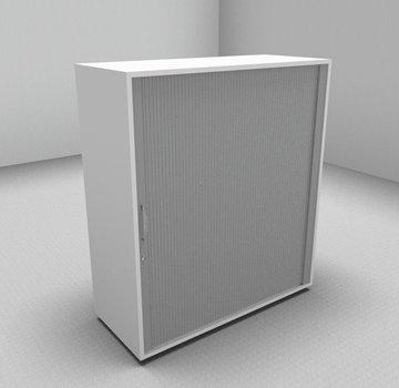Serie MA  Querrollladenschrank 3OH silber - 100cm breit