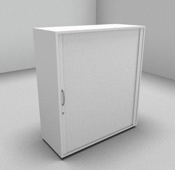 Serie MA  Querrollladenschrank 3OH weiß - 100cm breit