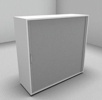 Serie MA  Querrollladenschrank 3OH silber - 120cm breit