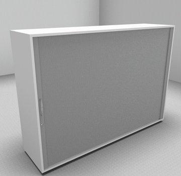 Serie MA  Querrollladenschrank 3OH silber - 160cm breit