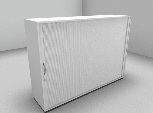 Serie MA Querrollladenschrank 3OH weiß - 160cm breit