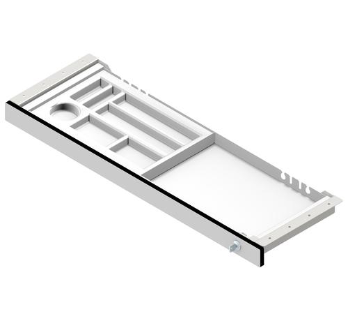 Serie HB lange Unterbauschublade für Empfangstheken und Schreibtische