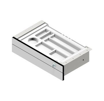 Serie HB 2-fach-Unterbauschublade, abschließbar