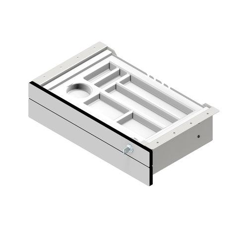 Serie HB 2-fach-Unterbauschublade für Empfangstheken und Schreibtische