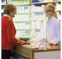 Viren- und Spuckschutzwand für Empfangstresen - Empfangstheken AS