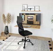 Serie HB - Schrank- und Tischkombination für Büro oder Praxis  Wandschreibtisch