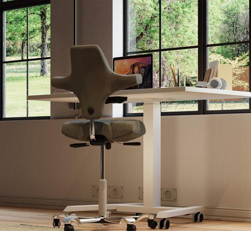 """Serie MA  Multifunktionaler Schreibtisch """"VARIANT"""" fürs Home-Office und für flexibles Teamwork"""