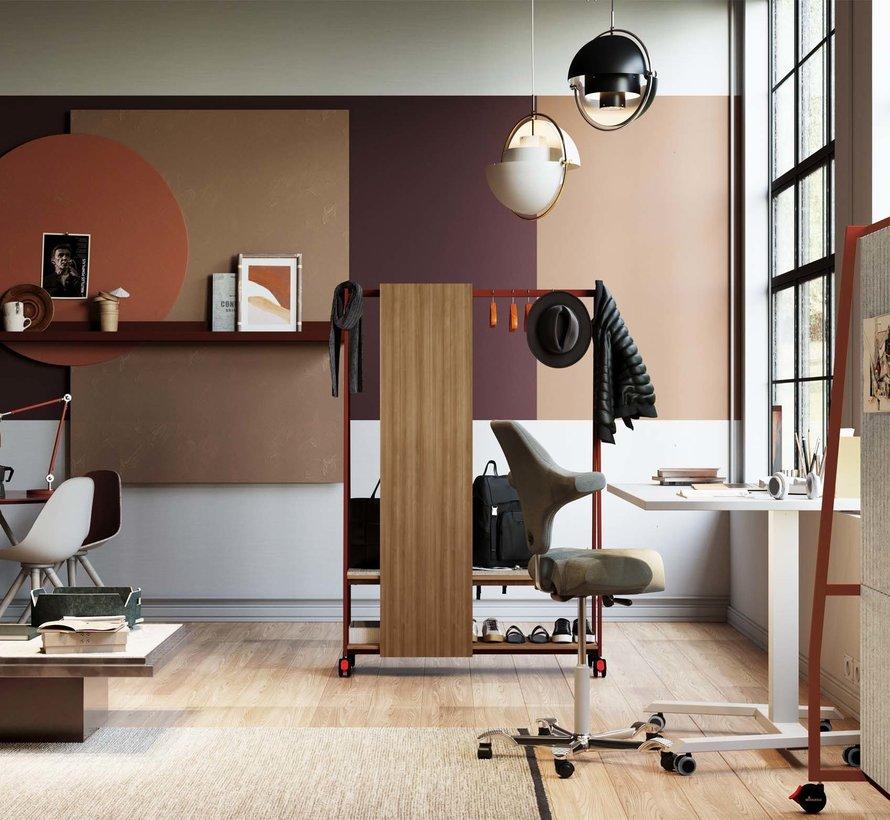 """Multifunktionaler Schreibtisch """"VARIANT"""" fürs Home-Office und für flexibles Teamwork"""