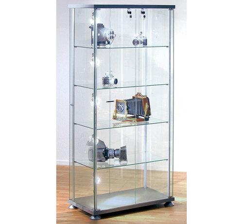 Serie KE Glas Vitrine Tetragon Büroeinrichtung