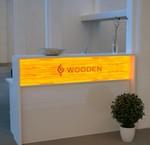 Empfangstheke Wooden
