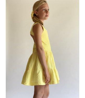 Debesos  Gele jurk met open rug