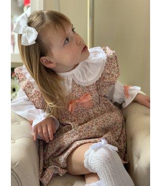Niña de las flores Autumn Lilly dress met blouse 3M