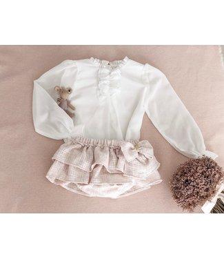 Bechic Chiffon blouse coco 3M