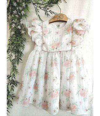 Be Chic Chiffon jurk flower 8Y