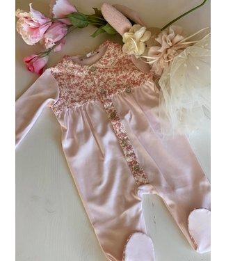 Pureté du bebe Pyjama floral roze