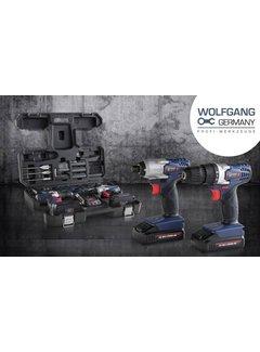 Wolfgang Wolfgang draadloze boormachine 72-delig