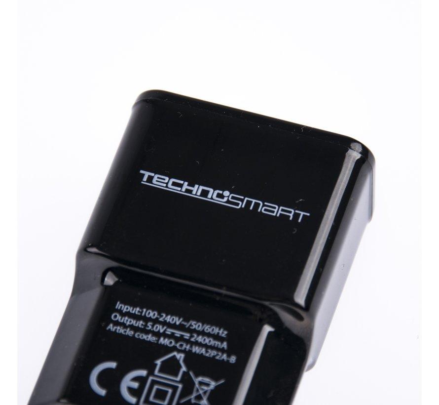 Technosmart Wand USB 2in1 lader