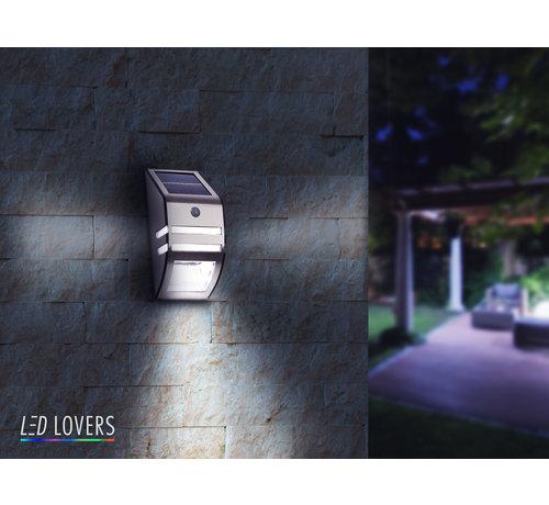 Draadloze LED Buitenlamp - Met Nacht- en Bewegingsensor