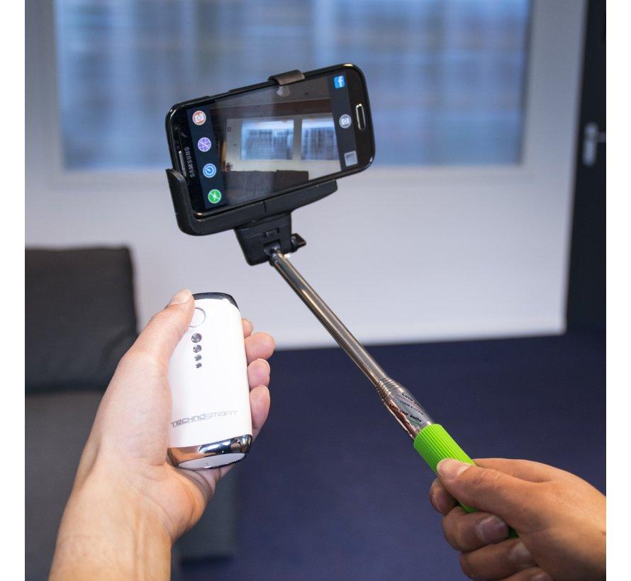 Technosmart Powerbank met Selfie Remote