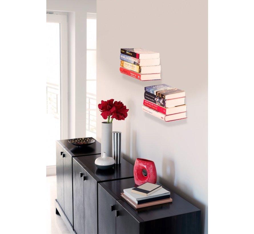 1+1 GRATIS - Boekenplanken zwevend
