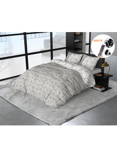 Sleeptime Sleeptime Flanel Gino - Dekbedovertrek + GRATIS Magnetische Telefoonhouder t.w.v. € 9,95