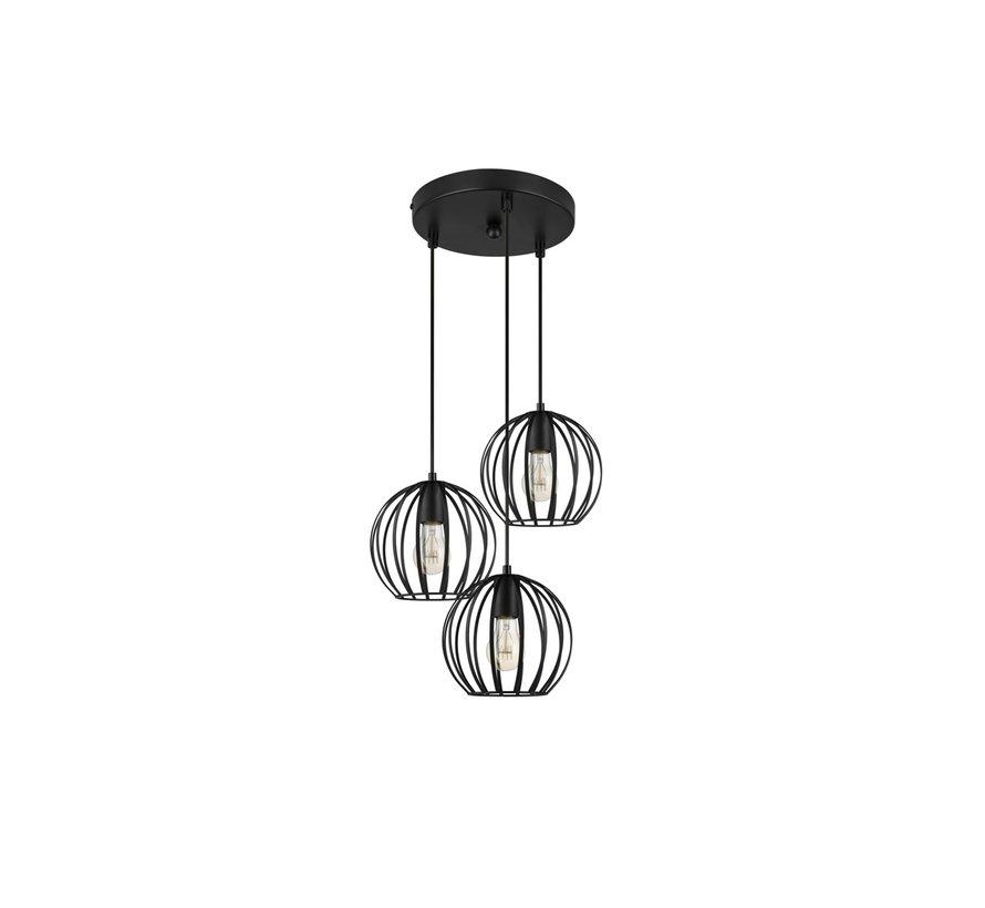 Moderne Metalen Hanglamp Filip - Lifa Living