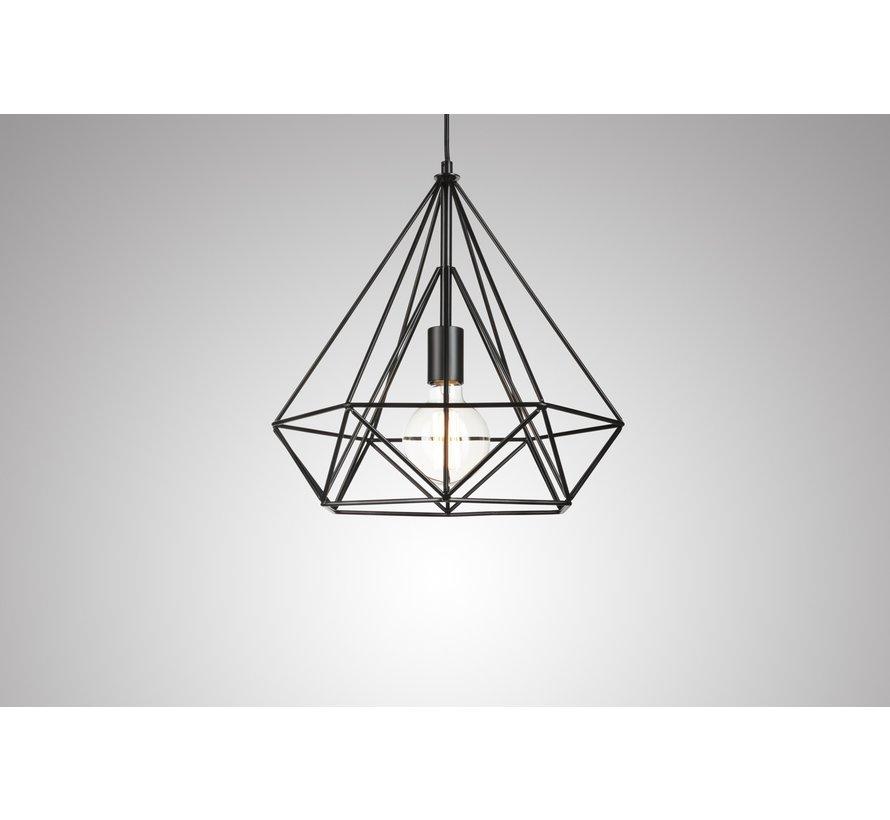 Industriële Hanglamp Uppsala - Zwart - Lifa Living