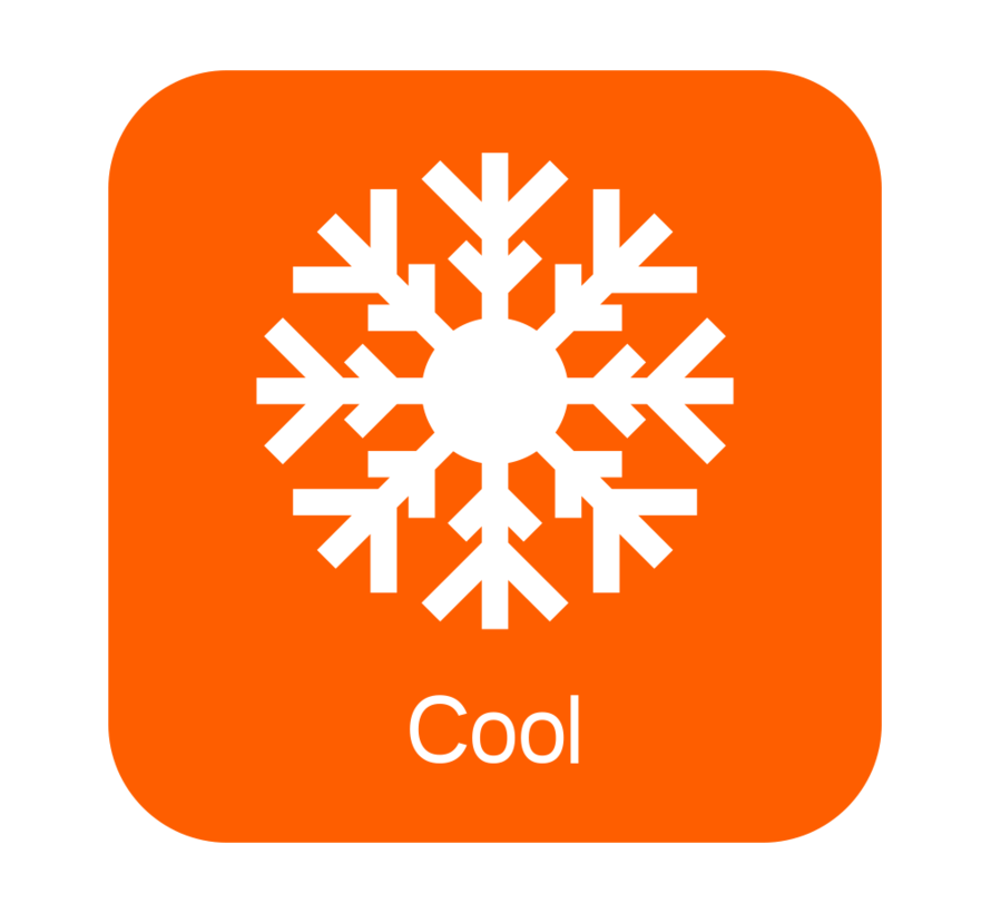 Verrijdbare airconditioner 9000 BTU - 4 instelbare functies