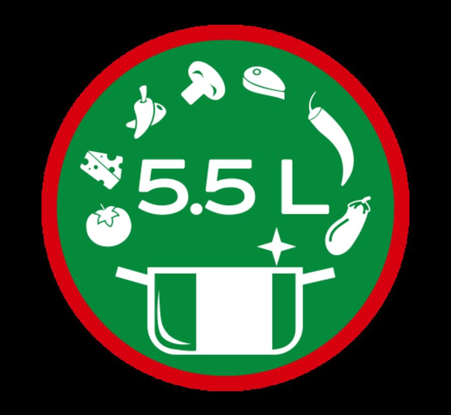 Airfryer 5,5 liter - Magnani