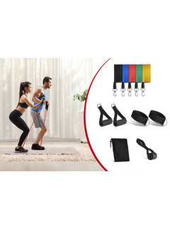 Workout Set - Home Training - Weerstand elastieken fitness