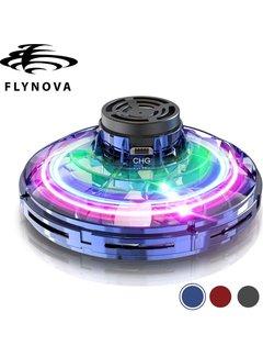Flynova Blue vliegende spinner met LED