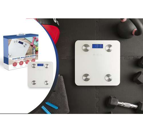 Intelligente Weegschaal - Max. 180 kg