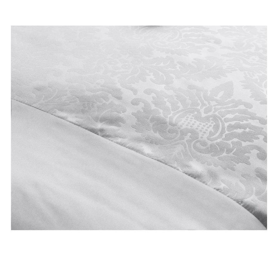 Zensation Brussel wit Dekbedovertrek + kussenslopen 60x70 cm