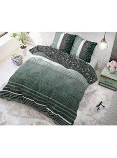 Dreamhouse Dreamhouse Matrix Groen - dekbedovertrek + Kussenslopen 60x70 cm