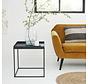 Prachtige bijzettafel Olav - Lifa Living - Salontafel - 48x48x50 cm