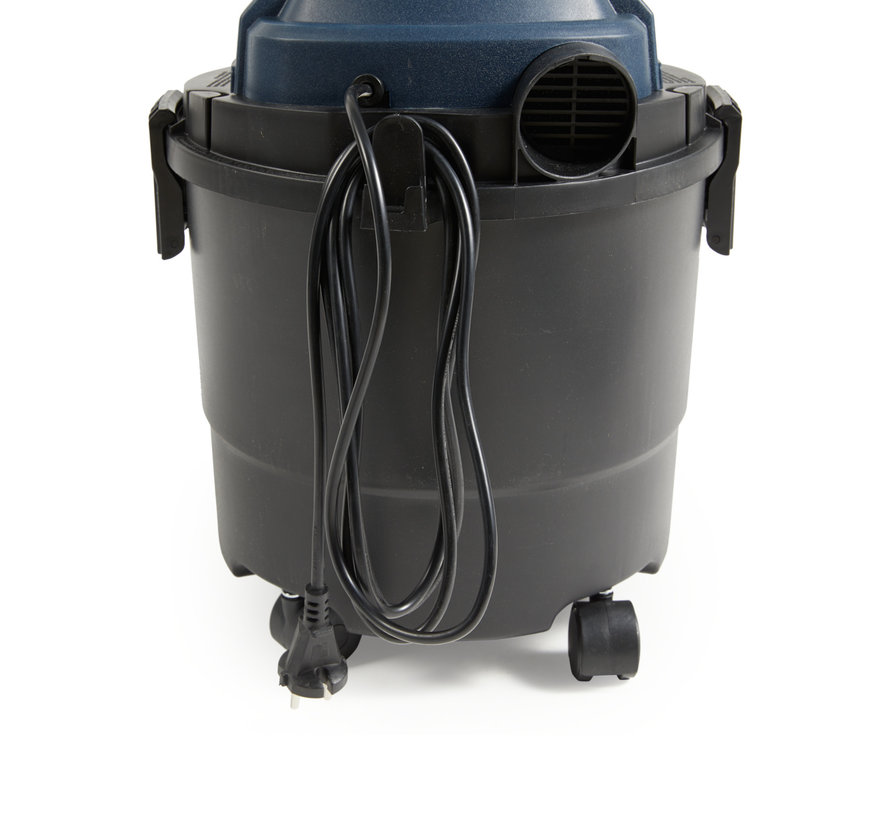 Krachtige Nat-/droogzuiger - 1250W - 15 liter tank