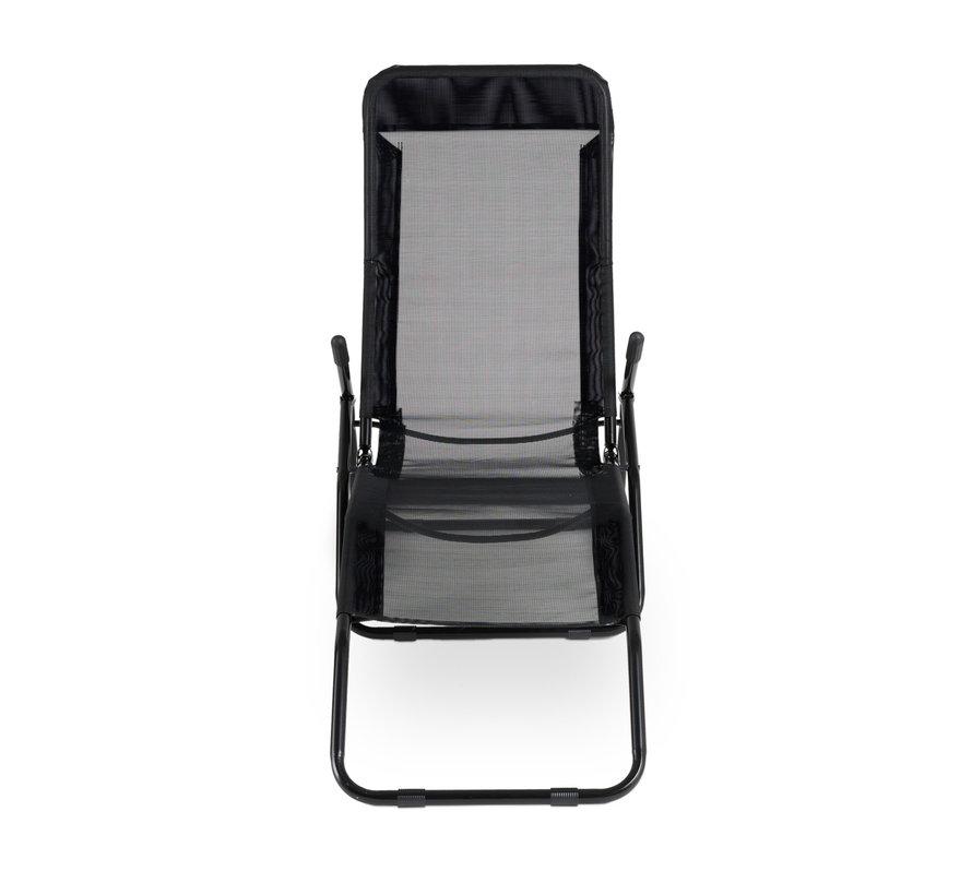 1 + 1 Gratis Comfortabele Lounger - Aluminium