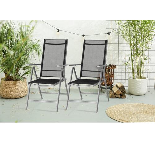 909 Outdoor 1 + 1 Gratis Aluminium Tuinstoel