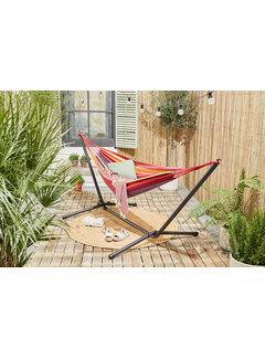 909 Outdoor Hangmat Regenboog met Standaard