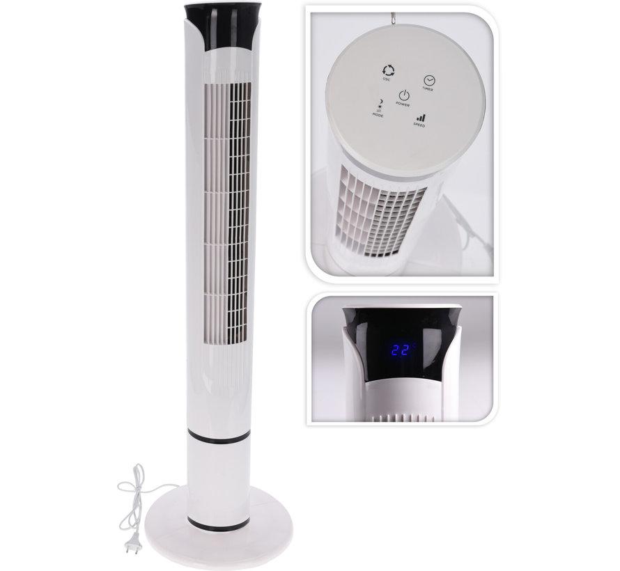 Koelventilator 103 hoog met afstandsbediening - 3 Fan snelheden