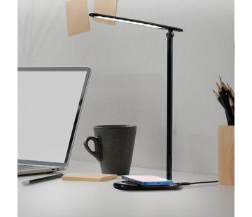 Dutch Originals Bureaulamp LED met Draadloze Smartphone Oplader - Qi