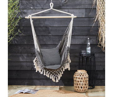 909 Outdoor Hangstoel met Kussens voor Binnen & Buiten