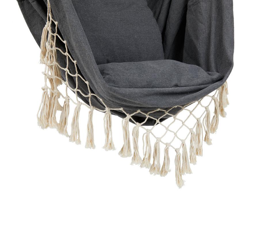 Hangstoel met Kussens voor Binnen & Buiten - Ecru of Grijs