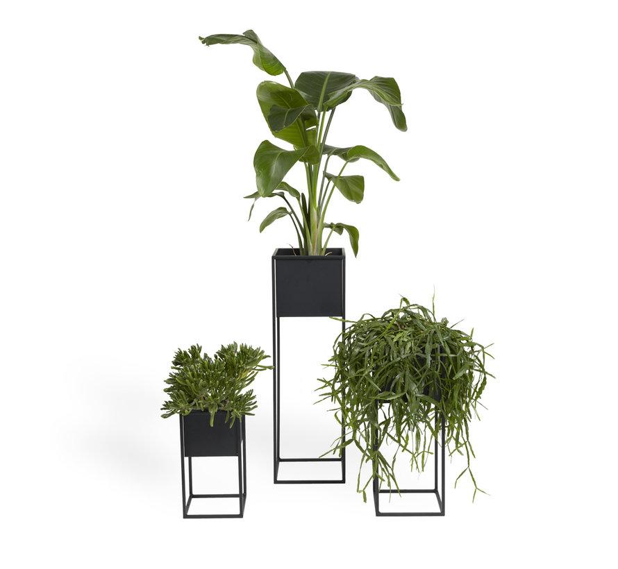 Moderne Plantenbak Veronica - Plantenpot is een set van 3