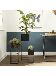 Lifa Living Moderne Plantenbak Veronica - Plantenpot is een set van 3