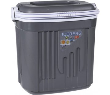 Iceberg Eda Koelbox - 20 liter - Grijs