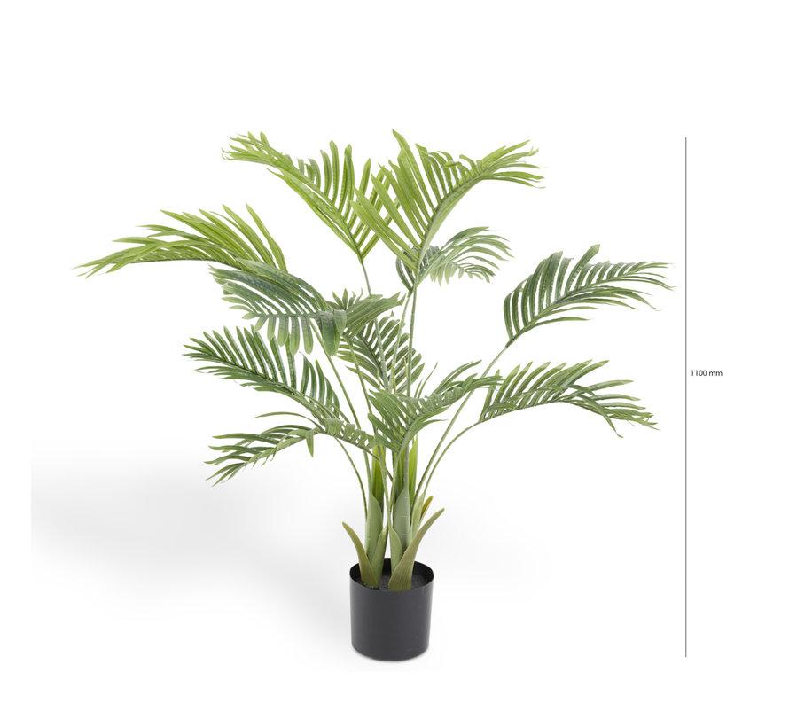 Kunstplant Palm Plant - Kunststof - 110 cm