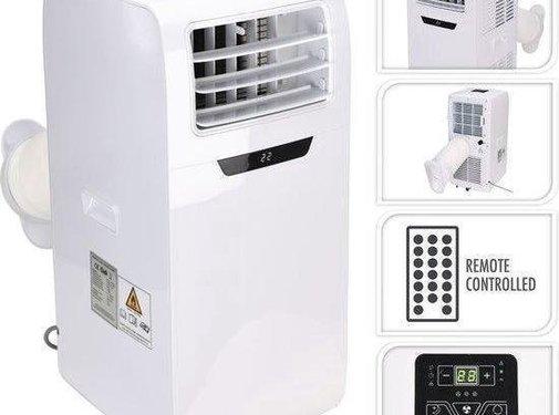 Mobiele Airconditioner 9000BTU - Met afvoerslang - Inclusief afstandsbediening