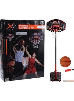 XQ Max XQ Max Basketbal - Verstelbaar in Hoogte - Verrijdbaar - Inclusief inclusief basketbal en pomp